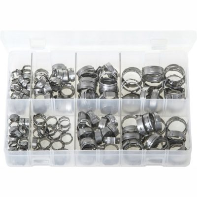 OETIKER '167' O-Clips - Single Ear Clamps. 160 Pieces. AB144