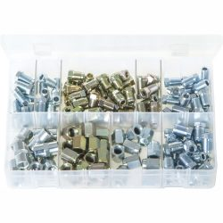 "Brake Nuts for 3/16"" Pipe. 150 Pieces. AB45N"