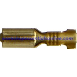 Non-Insulated Push-On Female Brass Terminal. 2.8mm Suits BMW ET423