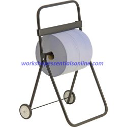 Industrial Blue/White Paper Roll Large Floor Stand VC526