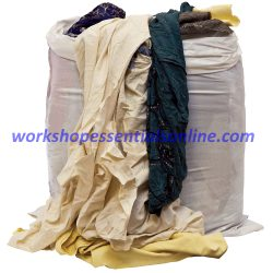 Industrial Wipes Basic Coloured. 10Kg Bag VC667