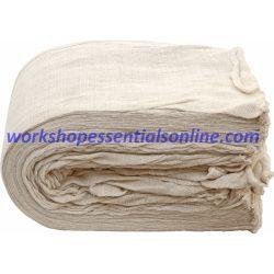 Polishing Cloths (Mutton) 100% Cotton 2Kg Bale Precut lengths WC13