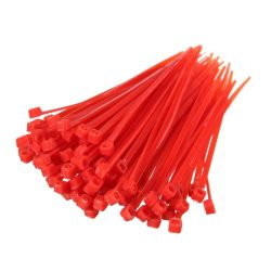 Cable Ties Red Strong Tie Wraps-Zip Ties Nylon Small-Large Sizes