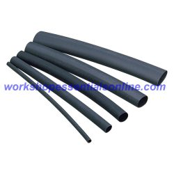 2:1 Black Heat shrink Waterproof Tube Sleeve various sizes cut to size