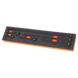 "1/4"" Drive Impact Extension Bar Set 6 Pcs Franklin XF1496"