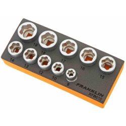 """3/8"""" Drive Bolt Extractor Set 10 Pcs Franklin XFB010"""
