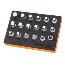 "3/8"" Drive Drain Plug Key Set 18 Piece Franklin XFDP18"