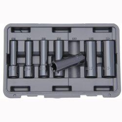 """1/2"""" Drive Deep Impact E-Torx Socket Set 7 Pcs Franklin Tools SE870"""