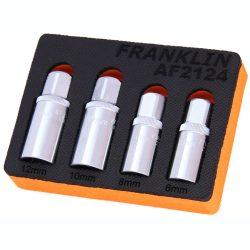 "1/2"" Drive Stud Extractor Set 4 Pce Franklin Tools AF2124"