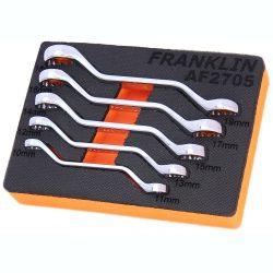 Ring Spanner Mini Set 12 Point 5 Pcs Franklin Tools AF2705