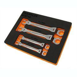 Flarenut Flexi Spanner Set 4 Pce Franklin Tools AF2714