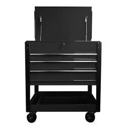 Tool Cart Black - Diagnostic/Body Shop/Workshop 1020 x 890 x 425mm TTSC4BK
