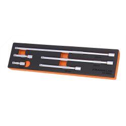 "3/8"" Drive Extension Bar Set 5 Pce Franklin Tools XF3865"