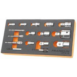 Bit Holder & Socket Adaptor Set 16 Pcs Franklin Tools XFA16