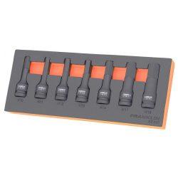 "1/2"" Drive Impact Hex Bit Socket Set 7 Pcs Franklin Tools XFIH7"