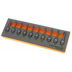 """3/8"""" Drive Impact Torx Bit Socket Set 10 Pcs Franklin Tools XFIS10"""