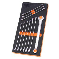 Combination Spanner Set XL 12 Pt 10 Pce Grip 4+ Franklin Tools 10-19mm AF7100