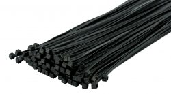 Cable Ties Releasable Black Strong Tie Wraps-Zip Ties Nylon