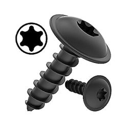 Torx Black Self-Tapping Screws Flange Pan Head Panel/Body Screws TORX