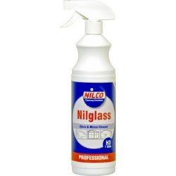 NILCO 'Nilglass' Glass & Mirror Cleaner 1 Litre Trigger Spray NIL1