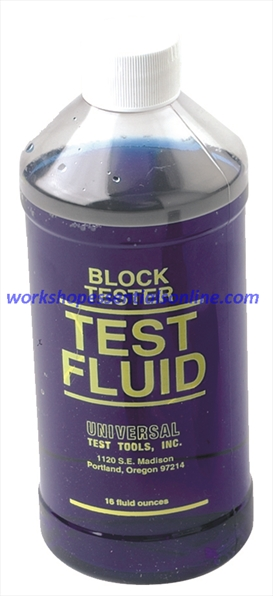 blue point combustion leak tester instructions